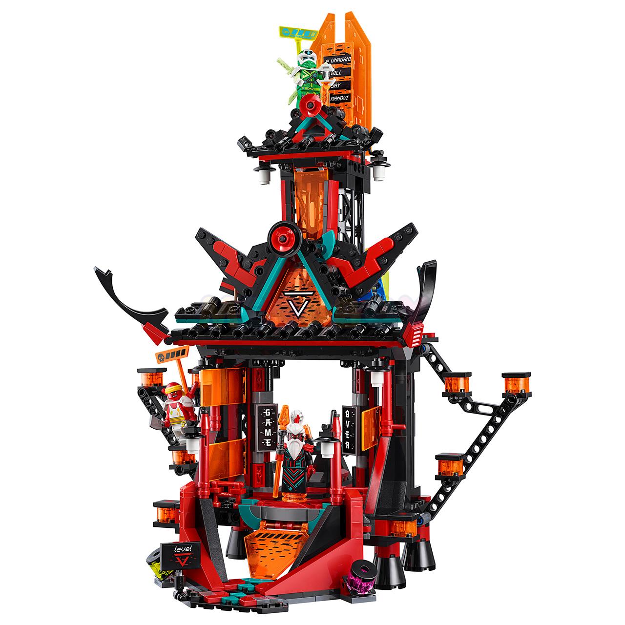 Купить LEGO Ninjago 71712 - Императорский храм Безумия