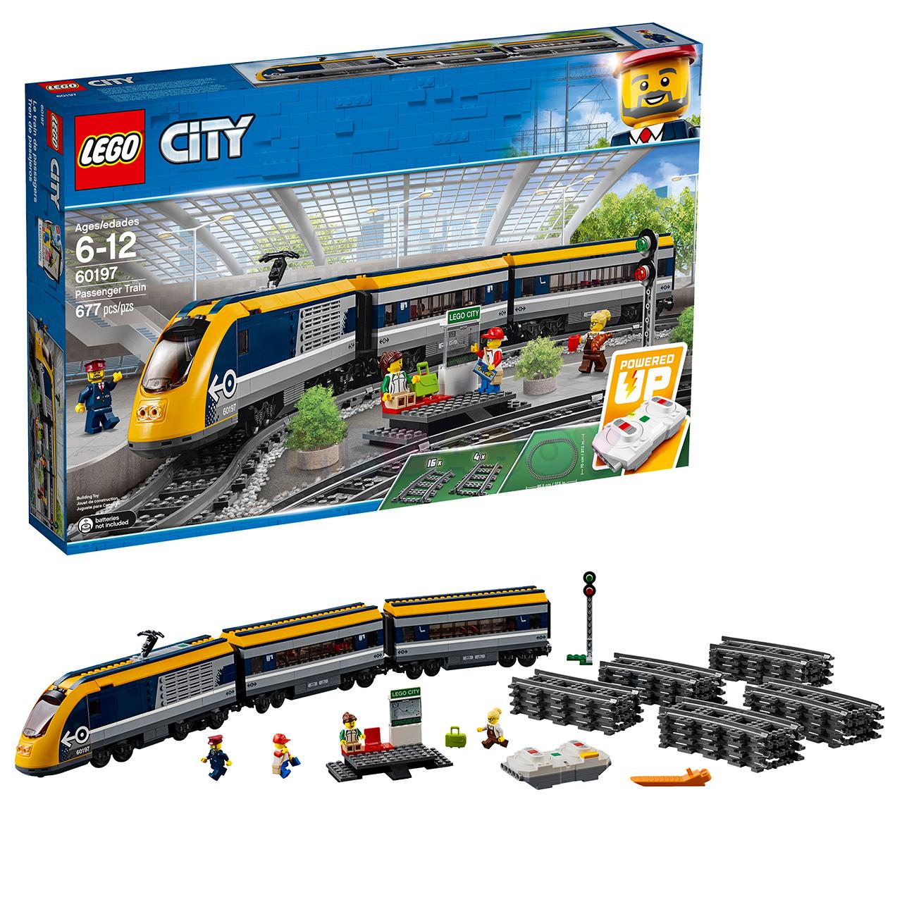 Лего поезд 60197 купить