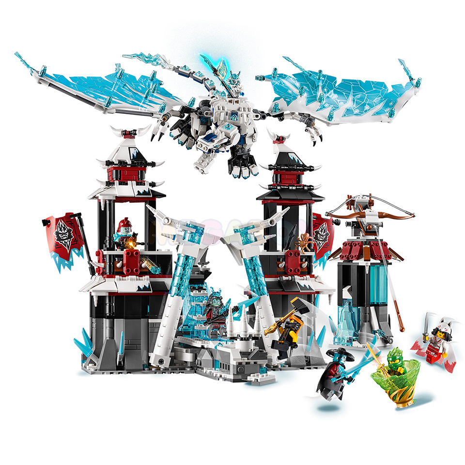 Купить LEGO Ninjago 70678 - Замок проклятого императора