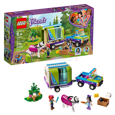 41371 LEGO Friends | ЛЕГО Френдс - Трейлер для лошадки Мии | 5702016369151