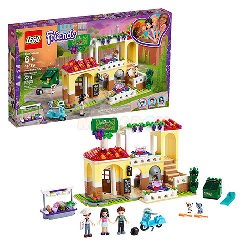 41379 LEGO Friends | ЛЕГО Френдс - Ресторан Хартлейк-Сити | 5702016537819
