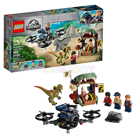 75934 LEGO Jurassic World | ЛЕГО Мир Юрского Периода - Побег дилофозавра | 5702016367225